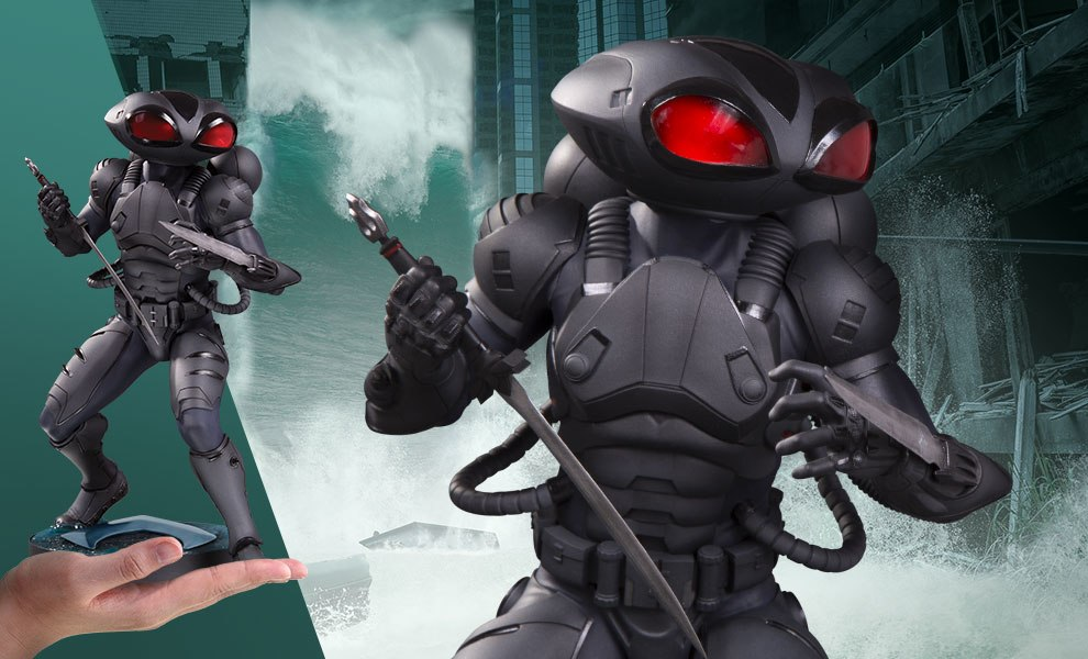 Gallery Feature Image of Black Manta Statue - Click to open image gallery