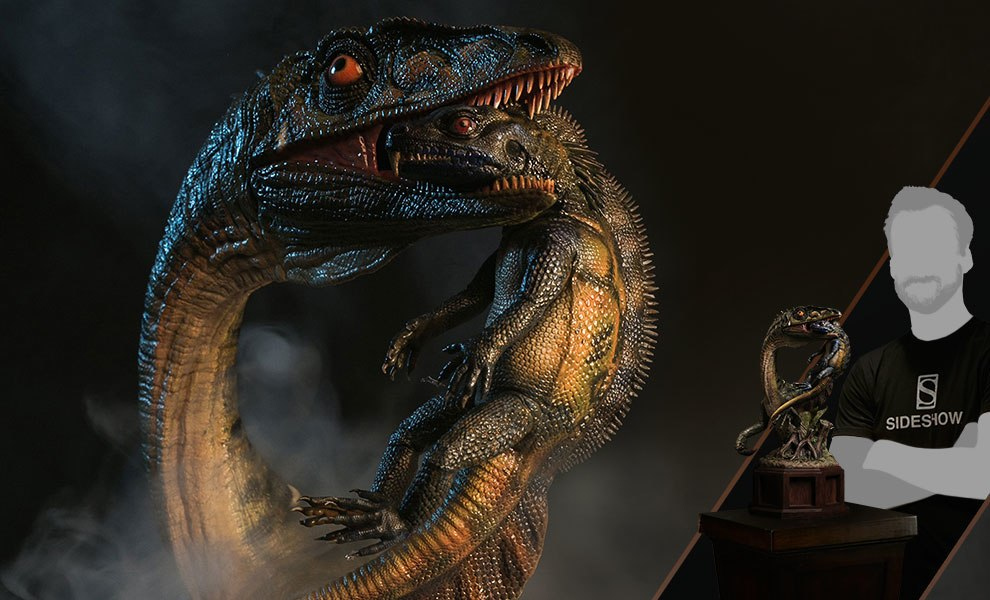 Gallery Feature Image of Coelophysis  Statue - Click to open image gallery