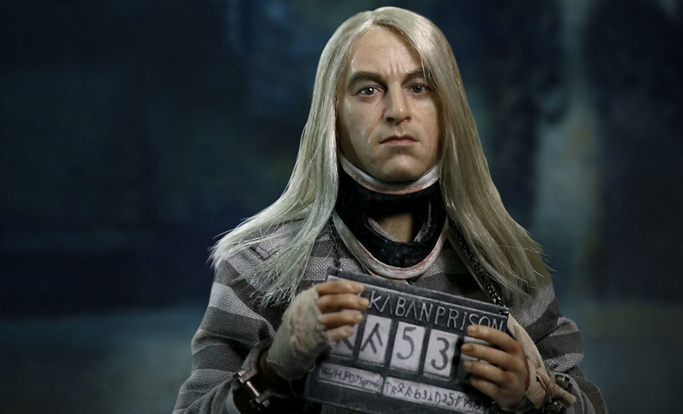 Gallery Feature Image of Lucius Malfoy Prisoner Version Sixth Scale Figure - Click to open image gallery