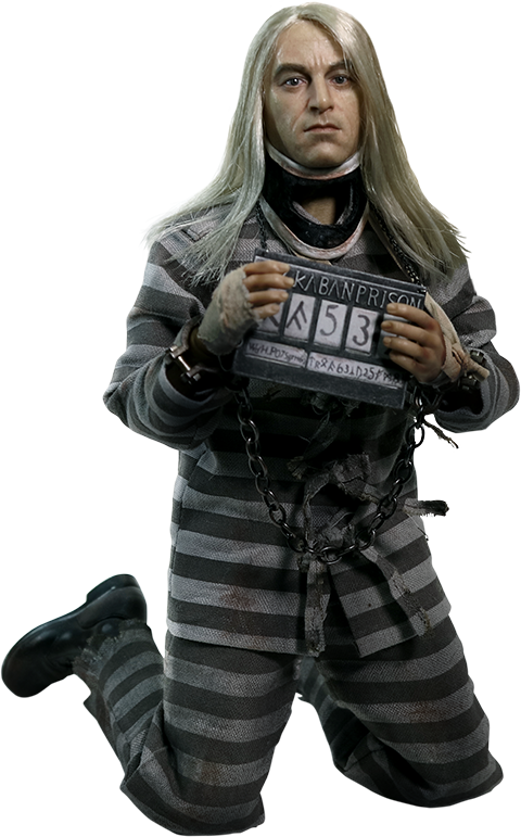 Star Ace Toys Ltd. Lucius Malfoy Prisoner Version Sixth Scale Figure