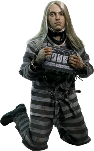 Lucius Malfoy Prisoner Version Sixth Scale Figure