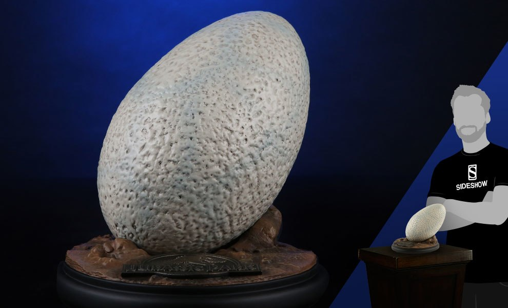 Gallery Feature Image of Velociraptor Egg Prop Replica - Click to open image gallery