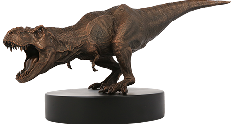 Chronicle Collectibles Bronze T-Rex Statue
