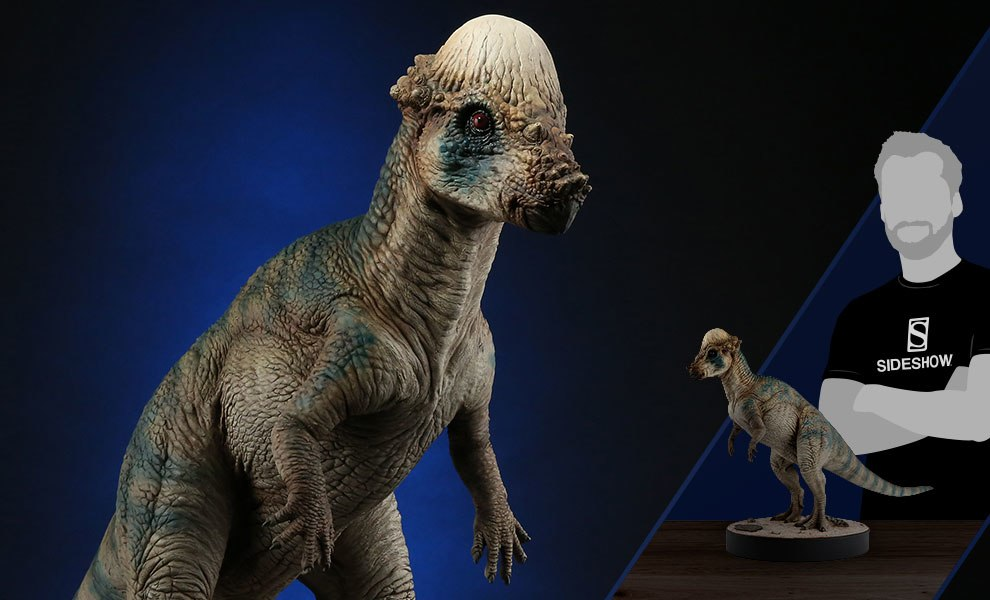 Gallery Feature Image of Pachycephalosaurus Statue - Click to open image gallery