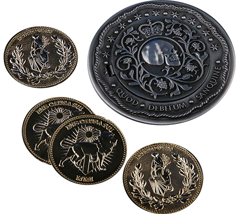 Chronicle Collectibles Blood Oath Marker Collectible Set