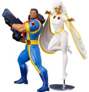 Bishop and Storm Two-Pack Set Statue