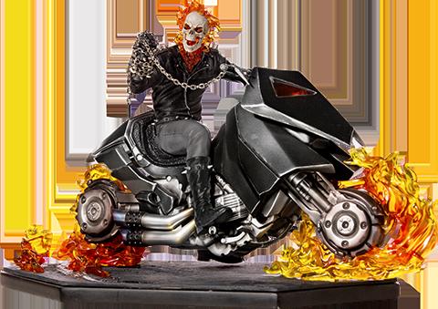 Iron Studios Ghost Rider Statue