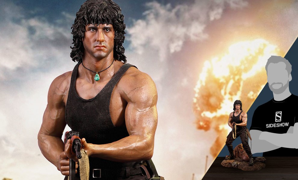 Gallery Feature Image of Rambo III Statue - Click to open image gallery
