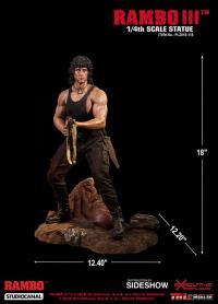 Gallery Image of Rambo III Statue