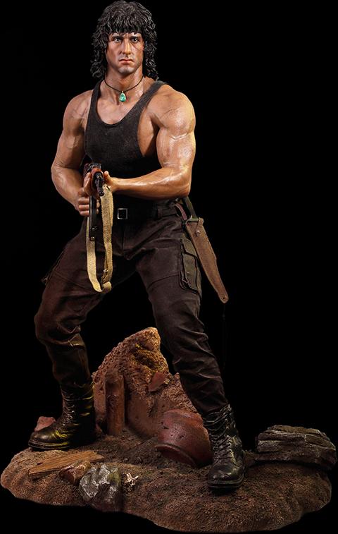 Phicen Rambo III Statue