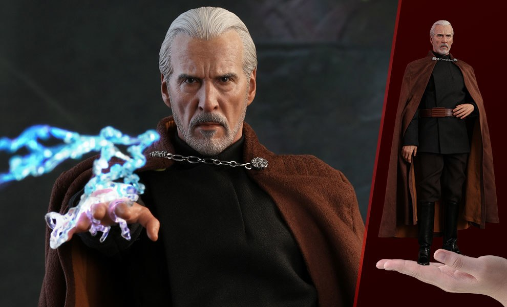 Gallery Feature Image of Count Dooku Sixth Scale Figure - Click to open image gallery