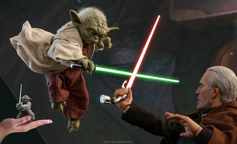 Gallery Feature Image of Yoda Sixth Scale Figure - Click to open image gallery