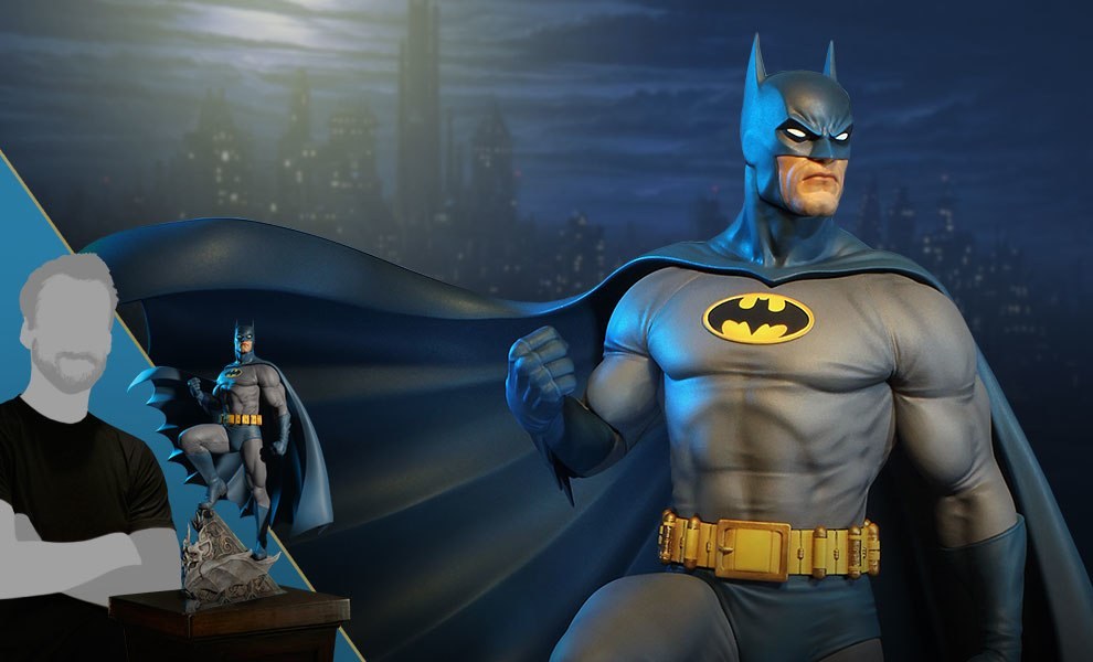 Gallery Feature Image of Super Powers Batman Maquette - Click to open image gallery