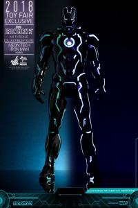 Gallery Image of Neon Tech Iron Man Mark IV Sixth Scale Figure