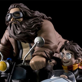 Harry Potter and Rubeus Hagrid Q-Fig Max Diorama
