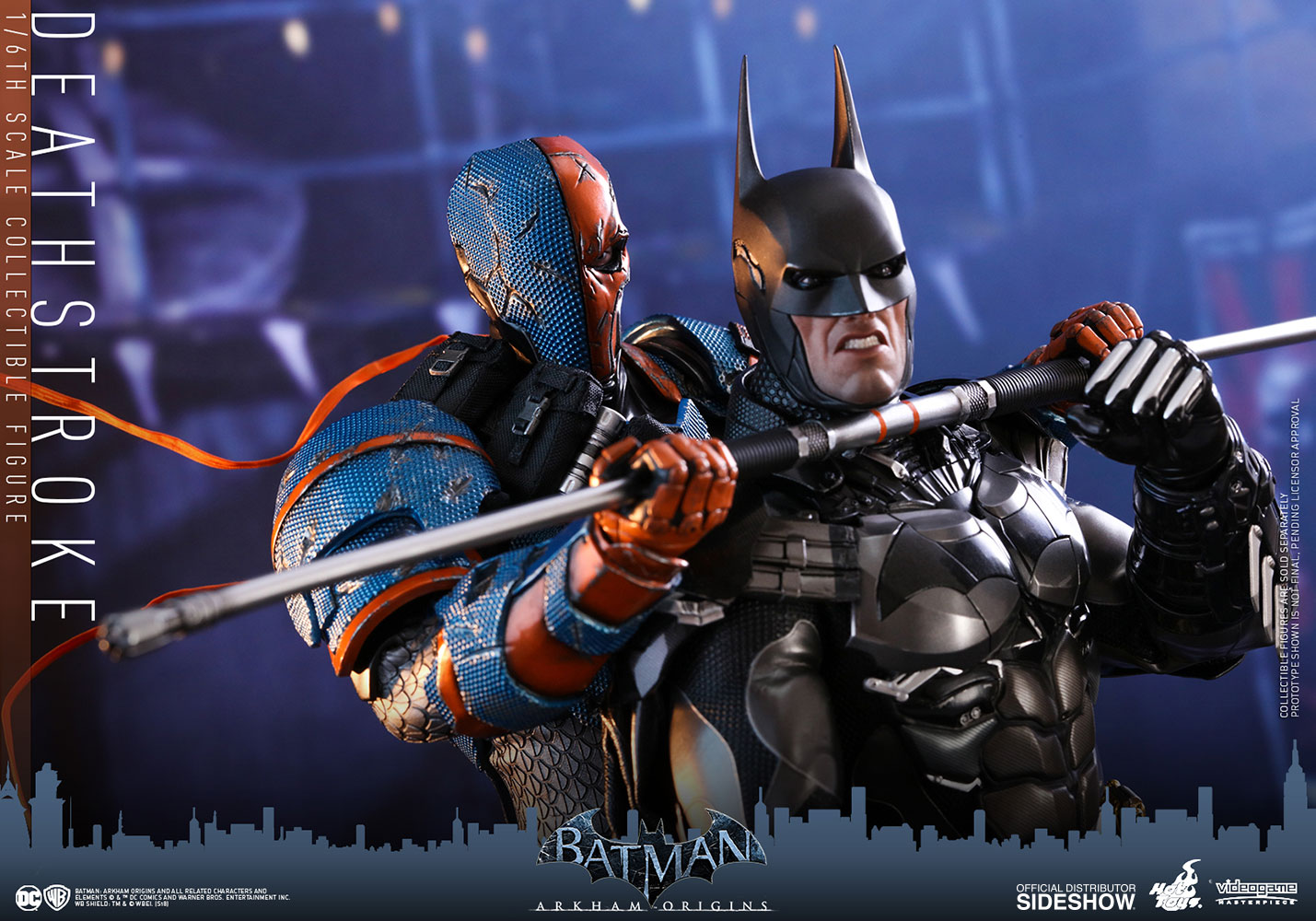 Deathstroke Sixth Scale Figure by Hot Toys | Sideshow ...