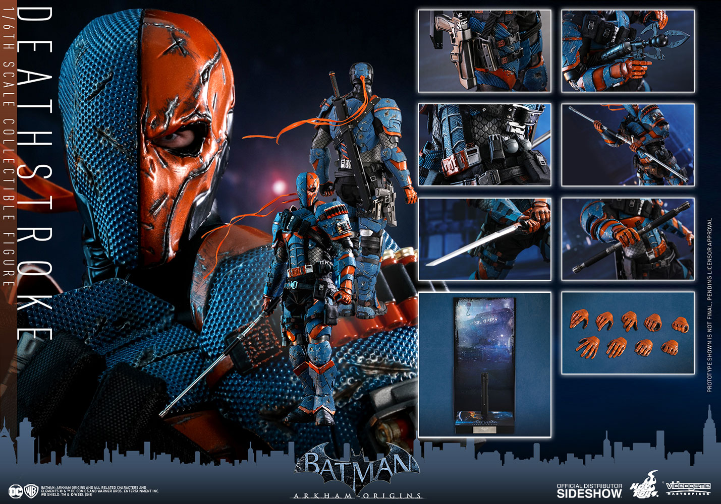 DC Comics Deathstroke Sixth Scale Figure by Hot Toys