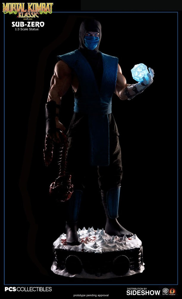 Mortal Kombat Sub-Zero Statue by Pop Culture Shock