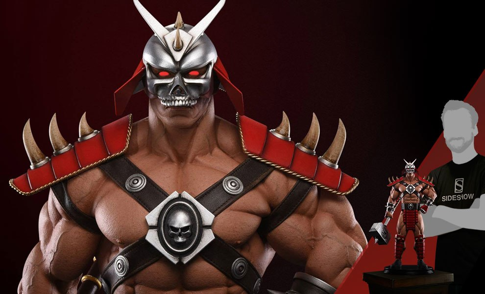 Gallery Feature Image of Shao Kahn Emperor of Outworld Statue - Click to open image gallery