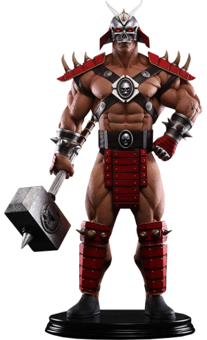 Shao Kahn Emperor of Outworld Statue
