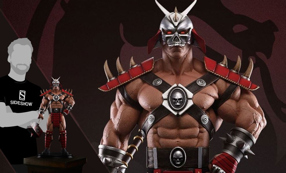Gallery Feature Image of Shao Kahn Bloody Hammer Statue - Click to open image gallery