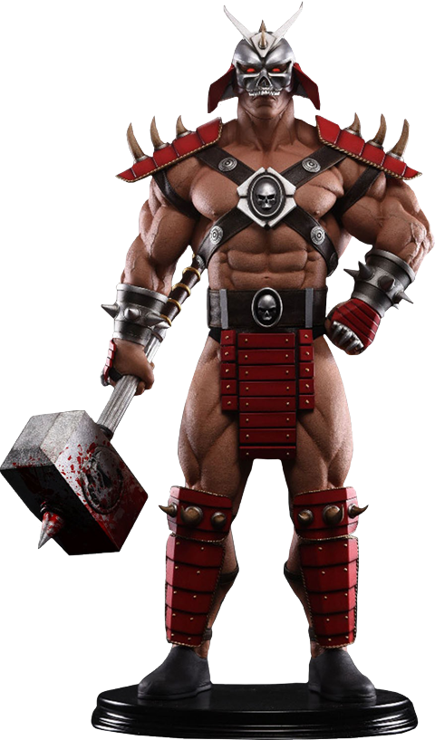 PCS Collectibles Shao Kahn Bloody Hammer Statue