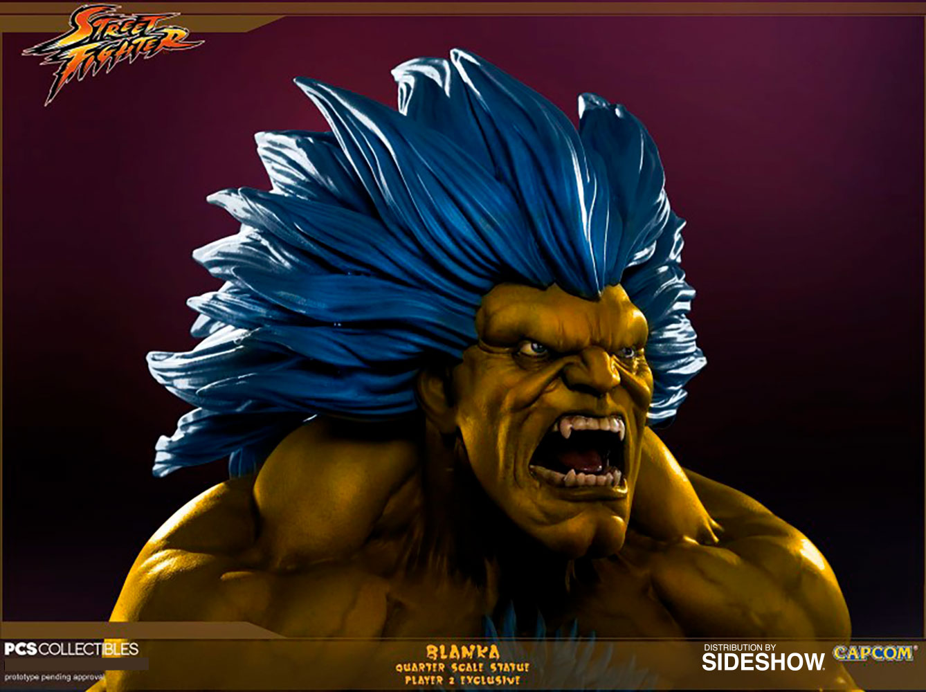 Street Fighter Blanka Player 2 Statue by Pop Culture Shock