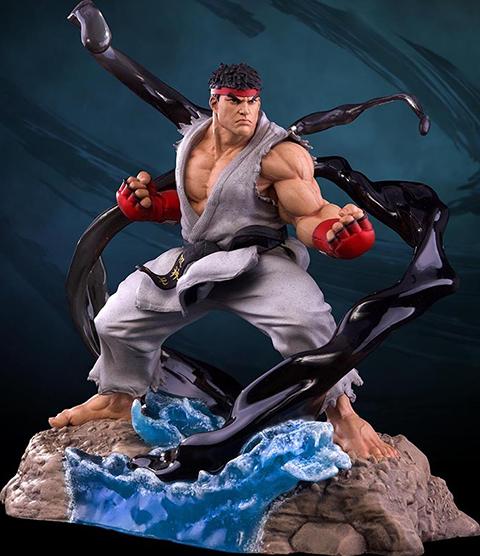 PCS Collectibles Ryu V-Trigger Collectible Set