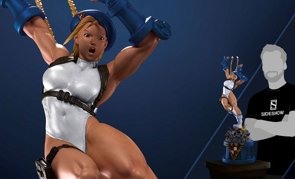 Gallery Feature Image of Cammy Player 2 White Statue - Click to open image gallery