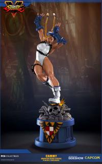 Gallery Image of Cammy Player 2 White Statue