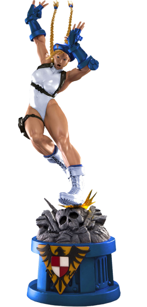 Cammy Player 2 White Statue
