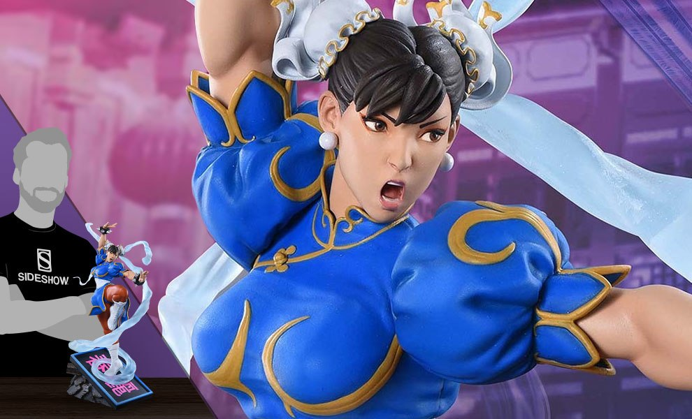 Gallery Feature Image of Chun-Li V-Trigger Statue - Click to open image gallery