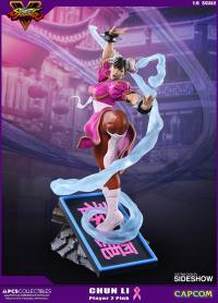 Gallery Image of Chun-Li V-Trigger Player 2 Pink Statue