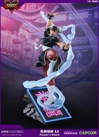 Gallery Image of Chun-Li V-Trigger Player 2 Black Statue