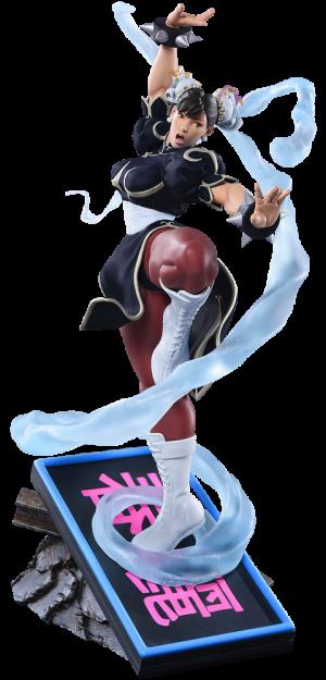 Chun-Li V-Trigger Player 2 Black Statue