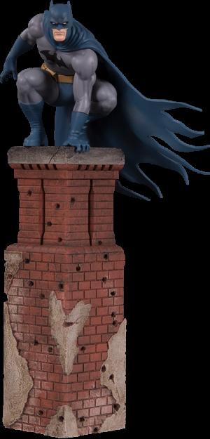 Bat Family Statue