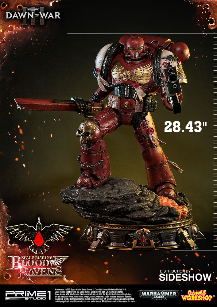 Warhammer 40,000: Dawn of War III Space Marine Blood Ravens