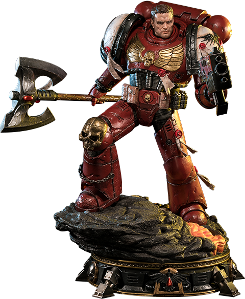 Prime 1 Studio Space Marine Blood Ravens Deluxe Version Statue