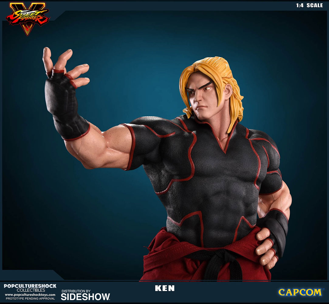 Street Fighter Ken Masters Statue By Pop Culture Shock Sideshow Collectibles