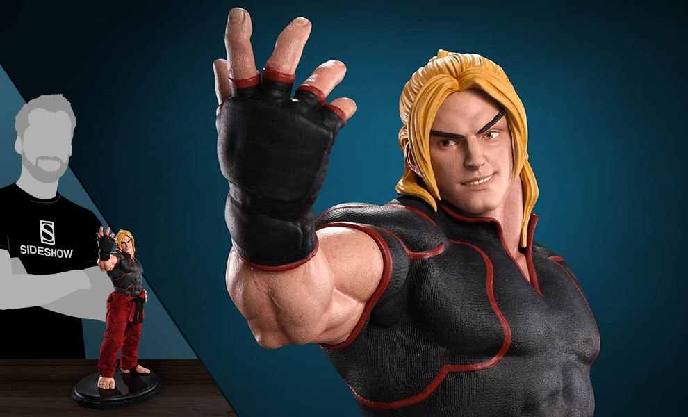 Gallery Feature Image of Ken Masters Ansatsuken Statue - Click to open image gallery