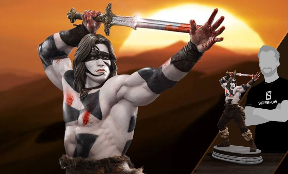 Gallery Feature Image of Conan the Barbarian War Paint Statue - Click to open image gallery