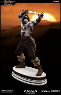 Gallery Image of Conan the Barbarian War Paint Statue