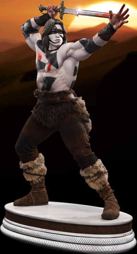 Pop Culture Shock Conan the Barbarian War Paint Statue