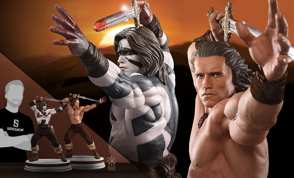 Gallery Feature Image of Conan the Barbarian Crom Set Collectible Set - Click to open image gallery