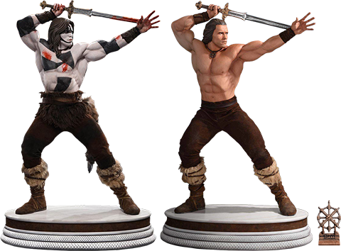 Pop Culture Shock Conan the Barbarian Crom Set Collectible Set