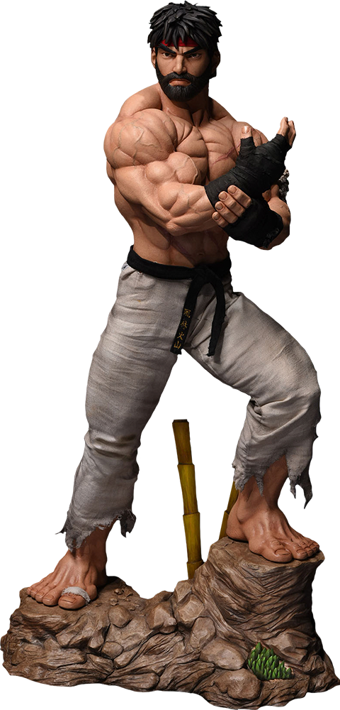 PCS Collectibles Ryu Battle Version Statue
