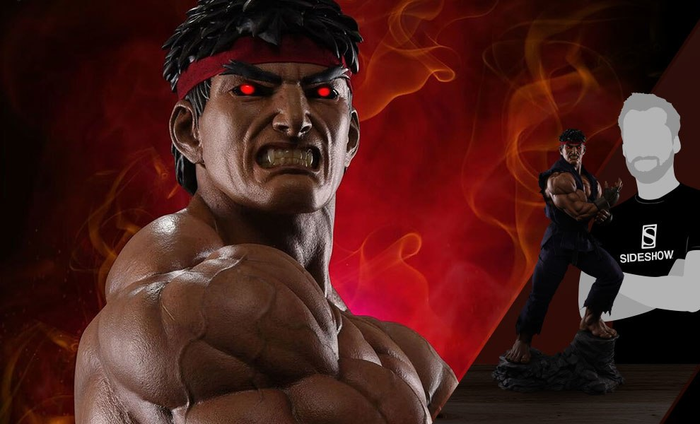 Gallery Feature Image of Ryu Evil Ryu Statue - Click to open image gallery
