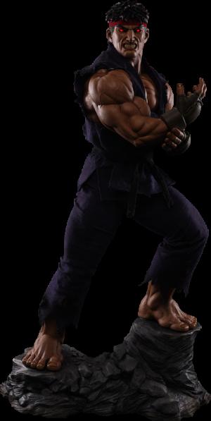 Ryu Evil Ryu Statue
