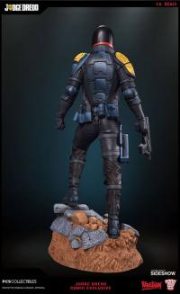 Gallery Image of Judge Dredd Comic Version Statue