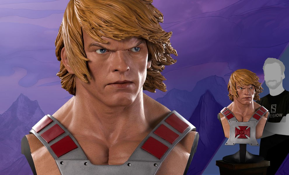 Gallery Feature Image of He-Man Life-Size Bust - Click to open image gallery